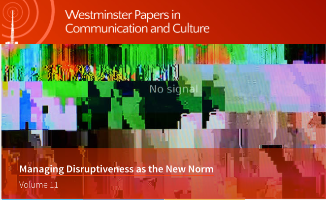 Managing Disruptiveness as the New Norm – WPCC
