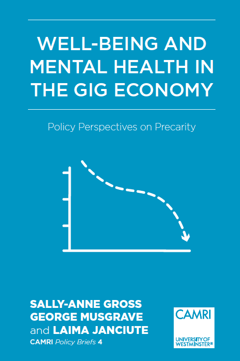 What to do about the Gig Economy and Mental Health