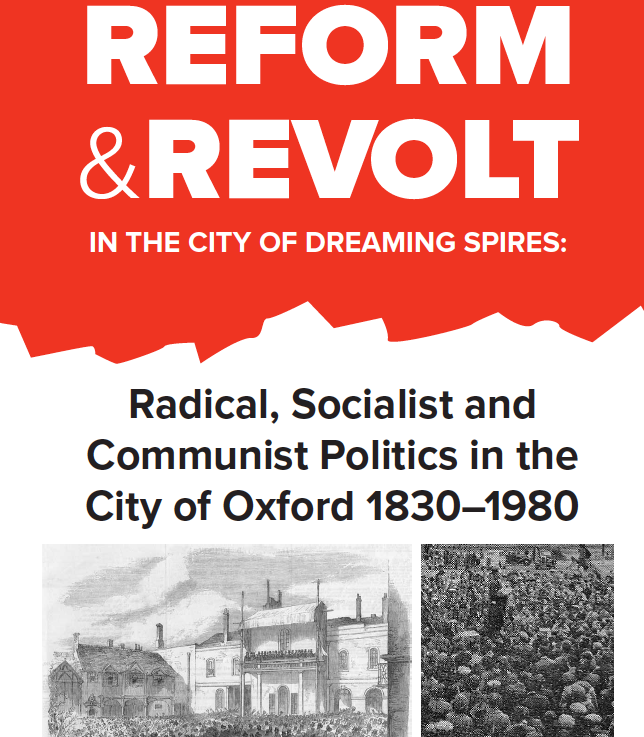 Radical Politics in the City of Oxford – new historypublished