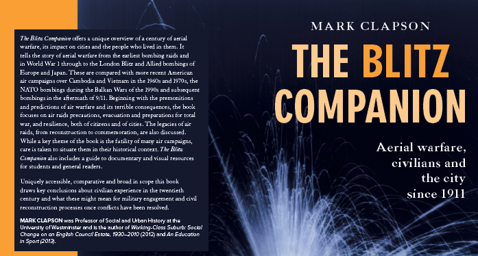 The Blitz Companion by Mark Clapson, published